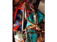Mountain bike parts and bikes full suspension and all terrain