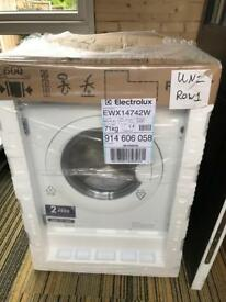 Electrolux EWX14742W integrated washer/dryer