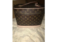 LV travel toiletry vanity bag case make up