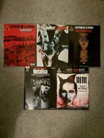 Guitar tab books Slipknot Metallica Manson System of a Down