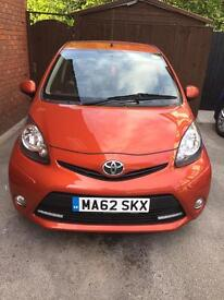 Toyota aygo fire 5 door, only 22,000 miles one previous lady owner