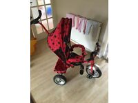 Girl trike bike excellent condition