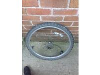 Mountain bike wheels front wheel comes with disc
