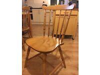6 x Pine Farmhouse Chairs