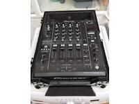 Pioneer DJM900 Nexus Mixer & Flight case