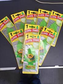 Car air freshener magic little tree x 9