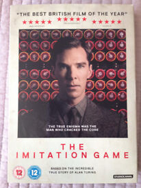 DVD The Imitation Game (Benedict Cumberbatch, Keia Knightley)