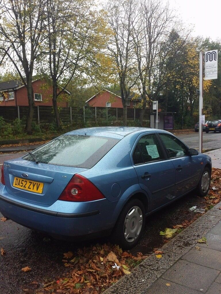 Perfect condition inside and out. Ford Mondeo Blue. Low milage