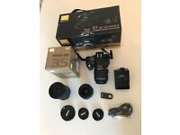 Nikon Camera D5100 Camera and 3 Lenses - Boxed Bundle - Bargain (good as new, in perfect condition)
