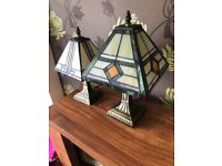 Set of 2 genuine Tiffany lamps
