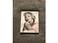 Two perfect condition Marylin Monroe pictures.