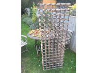 Large old wine rack