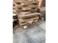 Patio slabs - large and heavy - perfect shed base