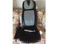 Massage Chair, heated, for back and shoulders