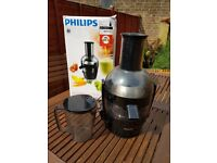 Powerful easy clean Philips HR1855 juicer for sale