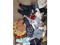 Huge bundle boys clothes 0 to 3 months. Some still have tags. Bragain!!! ***