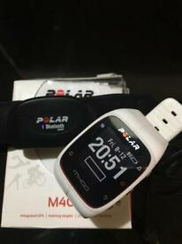 Polar M400 fitness watch + heart rate monitor