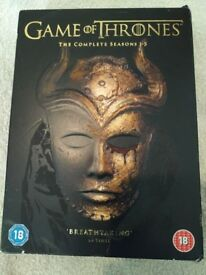 Game of Thrones Complete Seasons 1-5 DVD - £19