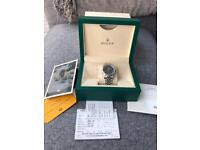 Rolex datejust 16220 boxed with guarantee