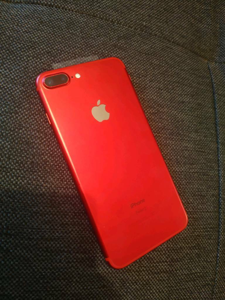 b4ed6671731d74 iPhone 7 Plus 128GB Red (Product) on O2 | in Enniskillen, County ...