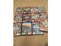 Sims 3 and 11 Expansion packs