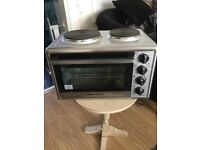 Morphy Richards Table top Electric oven with 2 hobs