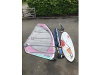 Starboard Kode 113, Tushingham Sail / Mast, North Boom - Full Windsurfing Kit