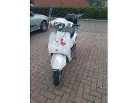 125cc Moped 14plate low milage