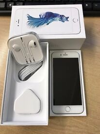 Iphone 6S 64GB, Unlocked, Boxed, Silver