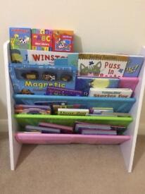 Bookshelf WITH books
