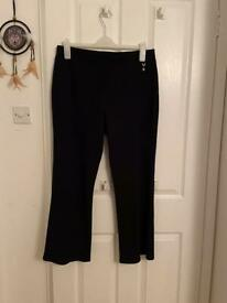 Ladies new black trousers