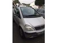 Mercedes a class 2004 low priced for quick sale!