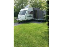 Holiday all Summer. Ready to go. Sterling Eccles Elite Searcher 2005 Twin Axle Caravan for Sale.