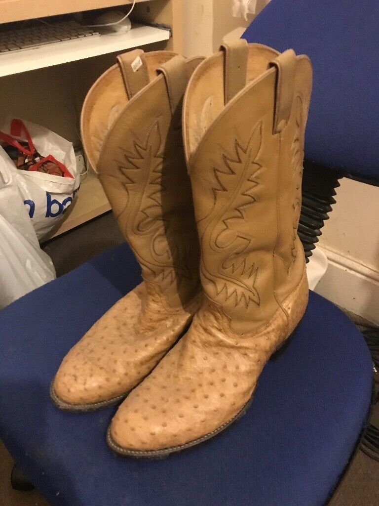 eaa31b73178 Nocona Leather Cowboy Boots (Size 12) | in Sheffield, South Yorkshire |  Gumtree