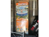 Brand new fast set pool
