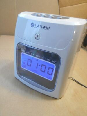 Lathem Timeclock 400e Automatic Time Clock Time Clock Only