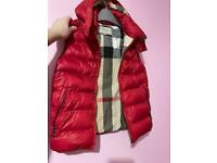 Burberry gilet for boys age 10