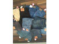 Joblot of levis jeans (14 pairs)
