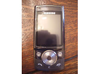 SAMSUNG G600 MOBILE PHONE UNLOCKED QUAD BAND 5.0MP CAMERA BOXED COMPLETE BARGAIN £35.00