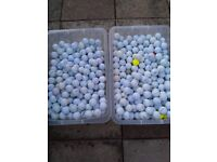 Golf balls for sale £20 a box