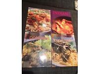 Set of 4 cookbooks
