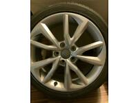 1x Spare Audi TT Alloy wheel. 17 inch.