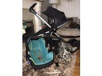Quinny zapp xtra full package with Maxi cosi and more