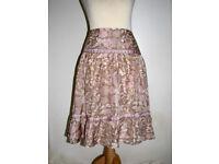 See By Chloé - Flirty silk skirt in a BoHo style never worn sz 12