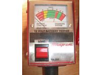 Snap On Discharge Battery Tester