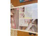 Lindam pink folding bed rail/ guard