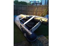 Honda T 40 inflatable boat & Honda 20 hip outboard