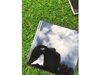 Black gloss 150x150 ceramic tiles