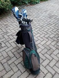 Full golf club set with bags - right-hand ladies