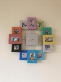 Photo wall clock